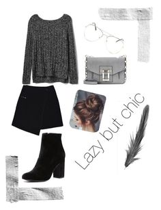 """""""Lazy but chic."""" by madynd on Polyvore featuring mode, MARC CAIN, Gap, Witchery et Proenza Schouler"""