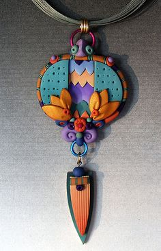 layered split pendant by labeanabags, via Flickr