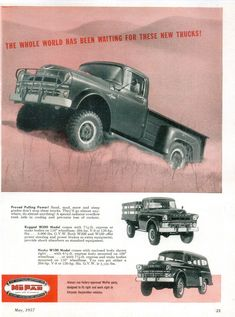 Dodge - adv (1957)
