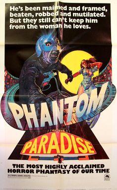 Phantom Of The Paradise poster