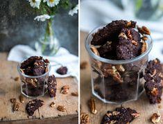 Bezlepkové čokoládové sušenky se solí