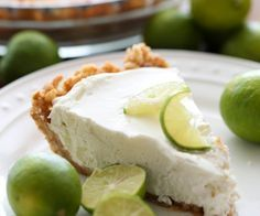 Key Lime Pie with Nilla Wafer crust