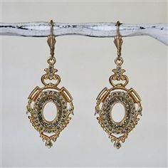 d094f3c93 Catherine Popesco earrings Hollywood Fashion, Drop Earrings, Crystal  Earrings, Antiques, Gold,
