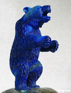 Lapis Lazuli Bear