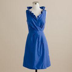 Blakely dress in silk taffeta