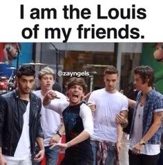 I am Louis. Louis is me. we are one