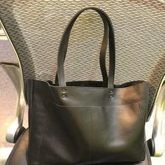 e642f56131 Large Black Leather Tote Genuine Leather Bag Black Leather