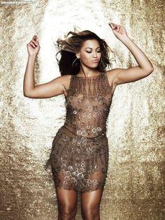 Beyonce upgrade u gold dress images
