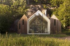 A constellation of cabins in Norway strikes the perfect balance between public and private space.