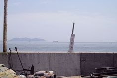 The mood : Tomo no Oura harbor, Japan ,  #dp2m #fukuyama #harbor #japan #merrill #setoinlandsea #sigma #temple #TomoNoOura