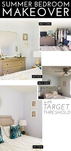 Summer Bedroom Makeover with Target!