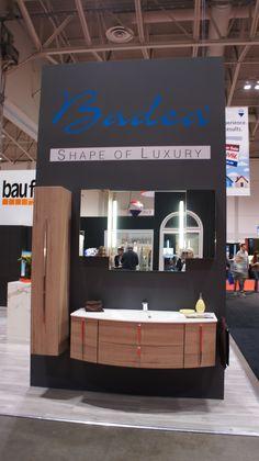 #bauformat #badea #bathroomvanity #curvedvanity #sidecabinet #integratedsink #wallmounted #german #walnut