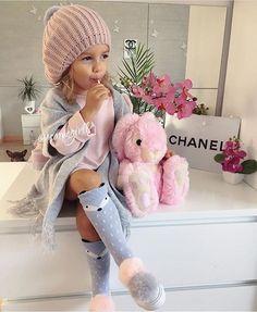 48 Ideas For Fashion Kids Pink Toddler Girls Little Girl Outfits, Cute Outfits For Kids, Little Girl Fashion, Cute Little Girls, Fashion Kids, Toddler Fashion, Fashion 2016, Fashion Wear, Trendy Fashion