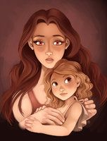 Bella and Renesmee by samantharobinson