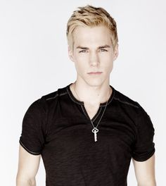 My fan cast for Sebastian Morgenstern. Chris Wood. Is he not just perfect for this role? He looks just right and looks good with both dark and light hair AND we know he is good at being a funny bad guy (Kai in TVD) ;) AND he's done TV shows before