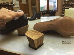 Stavím #podpatky na nové dámské #oxfordky  #pracovnisobota #podzim #vikend #shoemaking #womenshoes #bespoke