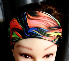 Fitness Headband - Psychedelic Print