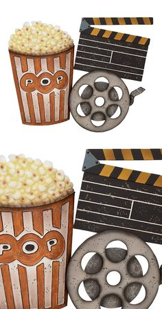 Lights, camera, popcorn! Set the mood in your designated in-house theater room with this charming Movie Night Wall Art decoration. Beautifully made from metal, this wall piece boasts a retro-style popc...  Find the Movie Night Wall Art, as seen in the Oddities & Desk Collection at http://dotandbo.com/category/decor-and-pillows/oddities-and-desk?utm_source=pinterest&utm_medium=organic&db_sku=117616