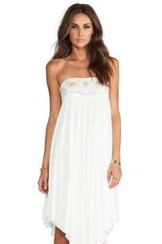 Free People Rhiannon Convertible Dress/Skirt in White from REVOLVEclothing
