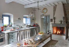 La cuisine de la maison d'hôtes