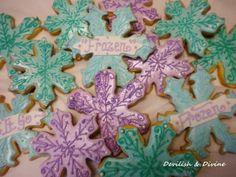 Sparkly Snowflake Sugar Cookies