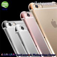 ASTROSOAR Four Corner Shockproof Anti-scratch Plating Back Case Cover iPhone 6 iPhone 6s Plus