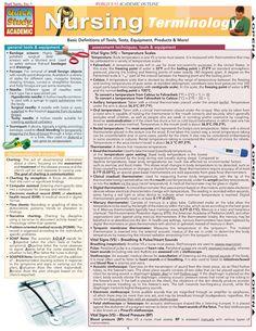Nursing Terminologies for Nursing Students