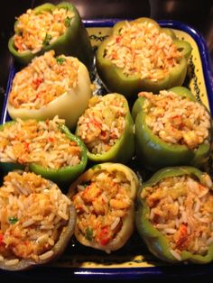 Crawfish Stuffed Bell Peppers – agranier Last summer I got such an abundance of bell peppers that I tried different recipes for the stuffing. Since we truly love crawfish, why not stuff the peppers with a Cajun flair. So, here is my reci… Crawfish Pie, Crawfish Recipes, Seafood Recipes, Cajun Recipes, Haitian Recipes, Pepper Recipes, Easy Recipes, Donut Recipes, Crawfish Enchiladas Recipe