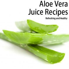 Aloe Vera juice recipes are often recommended to aid in hydration, especially for those who regularly exercise