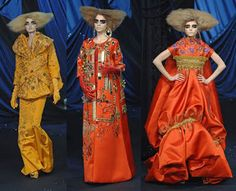 Dior haute couture 2008 inspired by Gustav Klimt