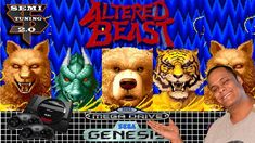 Playing Altered Beast On The Sega Genesis April 2018