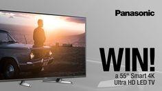 "#Panasonic 55"" Smart 4K Ultra HD LED TV worth £899 competition - Winner: ameliawalker__"