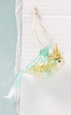 Festive Goldfish Ornament #anthrofave