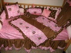 John Deere baby bedding!!