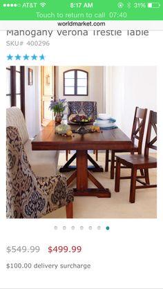 World Market Verona Collection CollectionFormal Dining RoomsDining TableDining RoomDinning Table SetDining