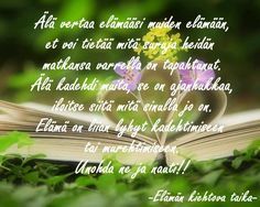 Kuvahaun tulos haulle tommy tabermann runot elämästä Finnish Words, More Words, Good Thoughts, Psychology, Herbs, Quotes, Psicologia, Quotations, Herb