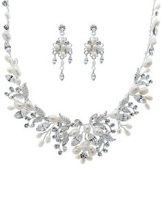Freshwater Pearl Couture Jewelry Set