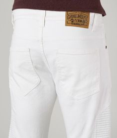 Moto Jeans, Men's Jeans, Fly Shoes, Lycra Spandex, Stretch Jeans, Stretch Fabric, White Jeans, Biker, Tights