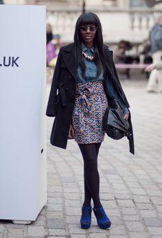 Lovely African print skirt