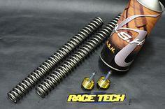 Fork Spring & Gold Valve for Sportster by RaceTech