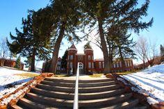 Old Main @ NAU Flagstaff - February 2012 photo