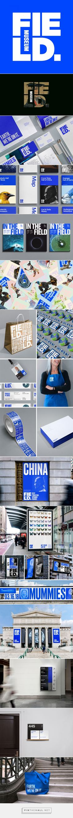Brand New: New Logo and Identity for Field Museum by Leo Burnett Department of Design... - a grouped images picture - Pin Them All