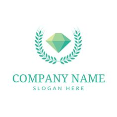 DesignEvo's online jewelry logo maker provides an easy way for you to create beautiful jewelry logo designs with millions of icons. No design experience needed, try it for free now! Custom Logo Design, Custom Logos, Diamond Logo, Online Logo, Jewelry Logo, Logo Maker, Company Names, Slogan, Green Logo