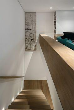 Casa K / Studio Arthur Casas #stairs