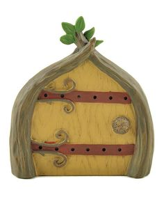 Love this Tree Limb-Lined Fairy Door Sculpture by Blossom Bucket on #zulily! #zulilyfinds