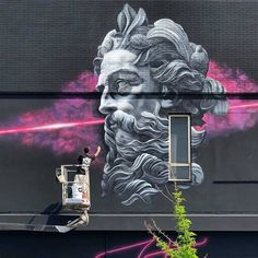 TOP 100 Urban Art 2019 – Best artworks and street artists of the year – Page 2 of 5 – Street art and graffiti magazine - streetart Murals Street Art, Street Art Graffiti, Graffiti Murals, Jorge Rodriguez, Turkey Photos, Illumination Art, Australia Photos, Street Signs, Art Festival