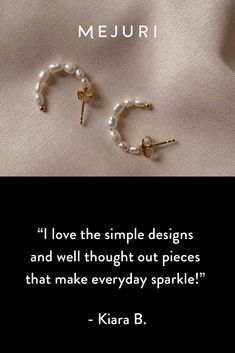 History says fine jewelry for occasions. We say forget occasions, fine jewelry for your damn self. Cute Jewelry, Gold Jewelry, Unique Jewelry, Statement Earrings, Pearl Earrings, Classic Style, My Style, Outfit Goals, Shoe Boots