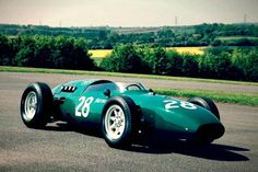 F1 Car - 1961 Vanwall VW14