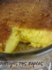 Πορτοκαλόπιτα χωρίς φύλλο #sintagespareas  Orange pie! Greek Sweets, Greek Desserts, Greek Recipes, Sweets Recipes, Cooking Recipes, Savory Muffins, Best Sweets, Greek Cooking, Yummy Cakes