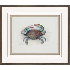 She Crab Giclée by Leonard Framed Painting Print